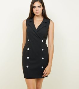 blazer dress newlook