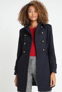Naf Naf abrigo, abrigo navy