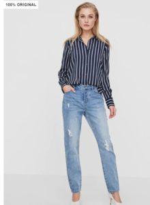 boyfriend jeans, vaqueros boyfriend claros